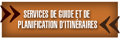 Service de guide et de planification